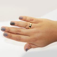 Par de Alianças em Ouro 18k 3 gramas 4mm de largura – Fio Reto Lisa